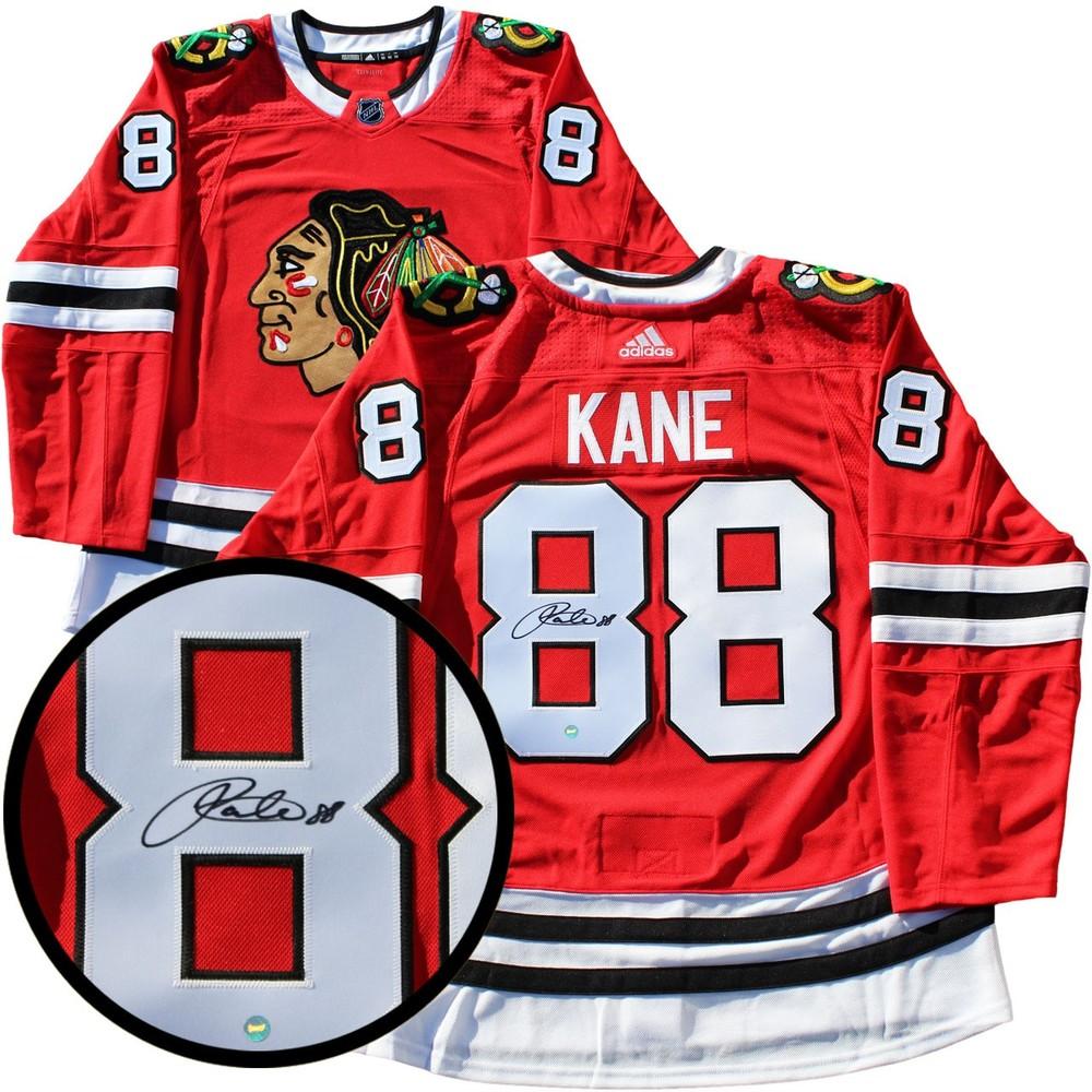 Patrick Kane - Signed Chicago Blackhawks Pro Red 2017-2018 Jersey