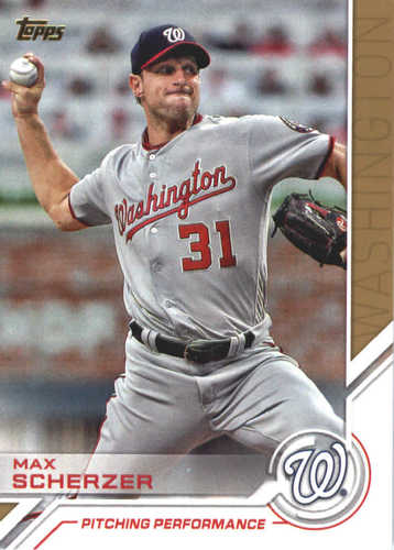 Photo of 2017 Topps Update Salute #USS28 Max Scherzer