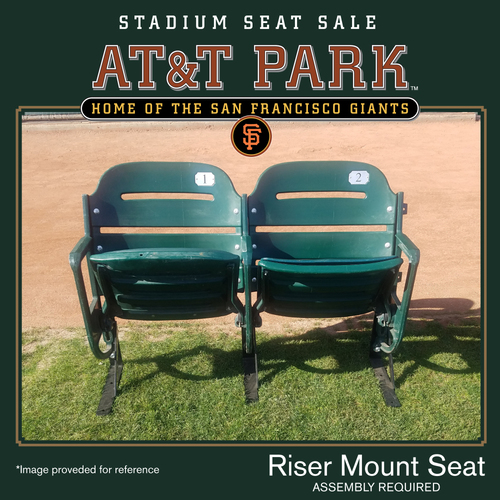 Photo of San Francisco Giants - AT&T Park Luxury Box Stadium Seat Sale - Riser Mount