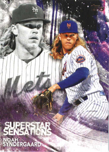 Photo of 2018 Topps Superstar Sensations #SSS20 Noah Syndergaard