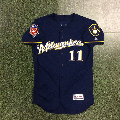 Photo of Darnell Coles 2018 Team-Issued Spring Training Jersey
