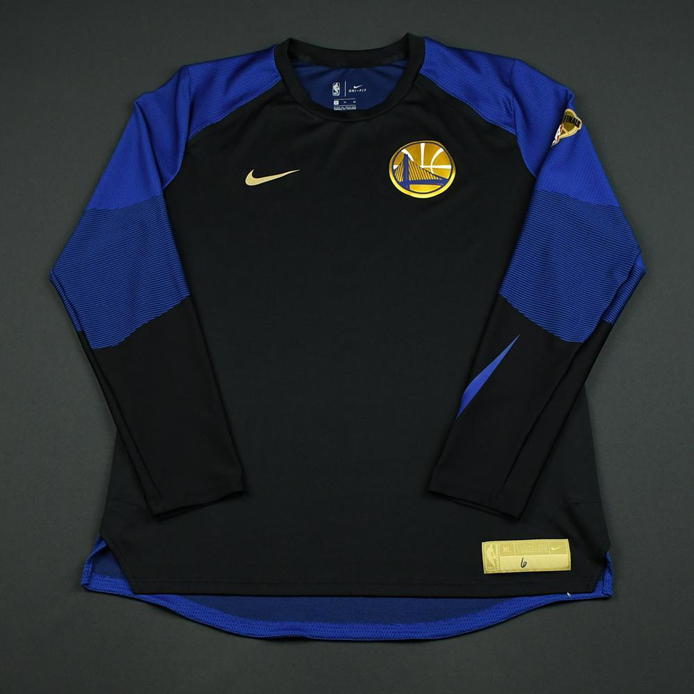 Nick Young - Golden State Warriors - 2018 NBA Finals - Game-Issued Shooting Shirt