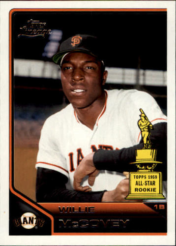 Photo of 2011 Topps Lineage #192 Willie McCovey -- Hall of Fame Class of 1986