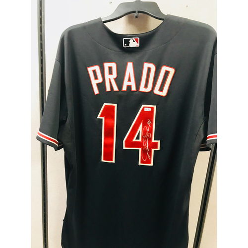 Photo of 2014 Martin Prado Autographed Jersey  - Size 48