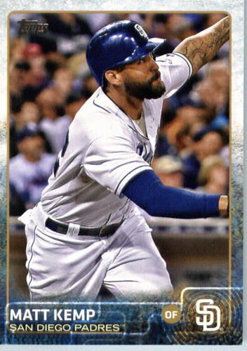 Photo of 2015 Topps Update #US325A Matt Kemp