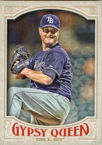 Photo of 2016 Topps Gypsy Queen #96 Alex Cobb