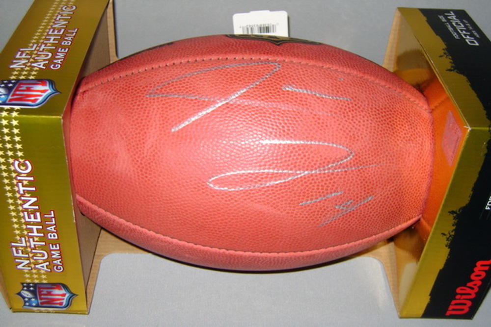 NFL -BROWNS JARVIS LANDRY SIGNED AUTHENTIC FOOTBALL