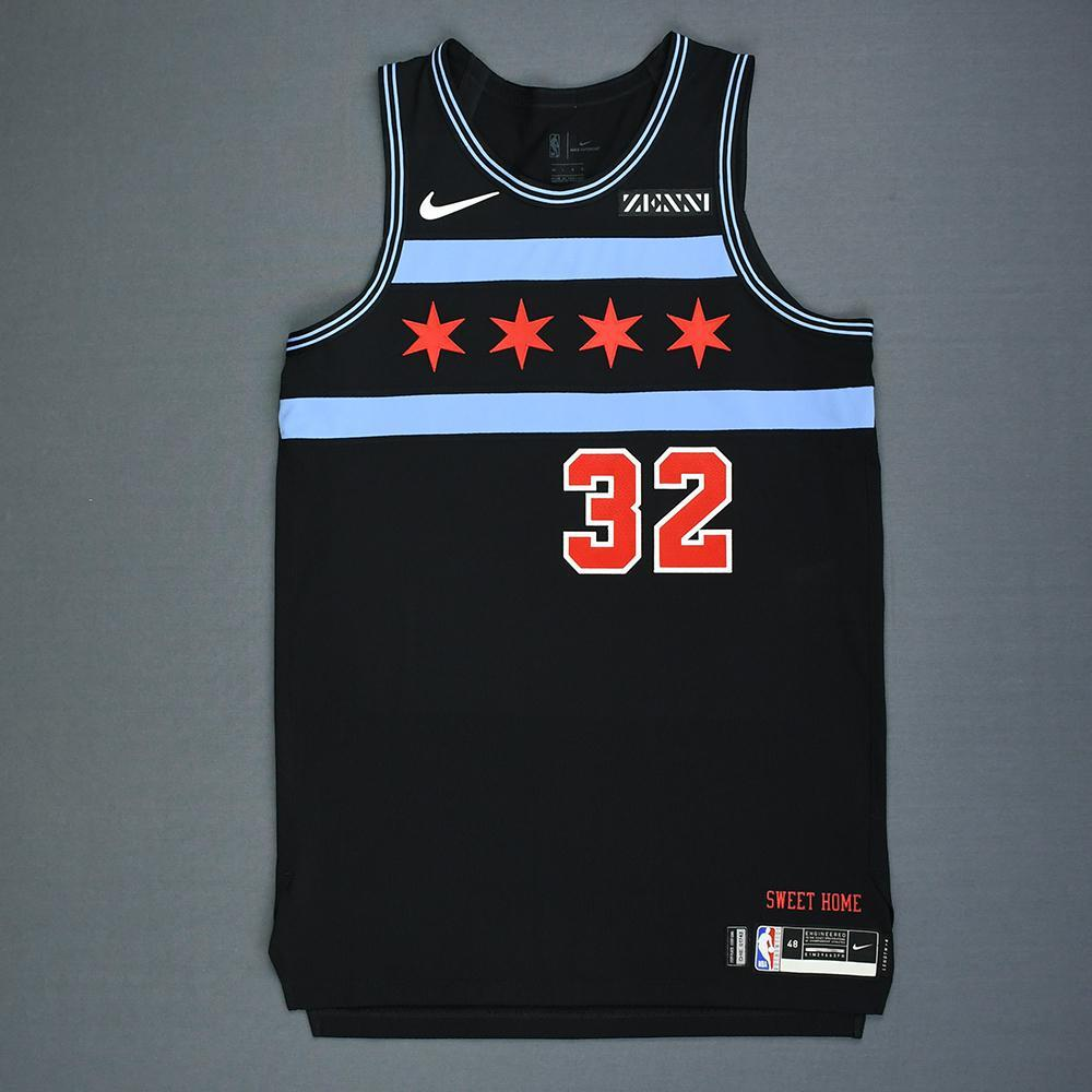 Kris Dunn - Chicago Bulls - Game-Worn City Edition Jersey - 2018-19 Season