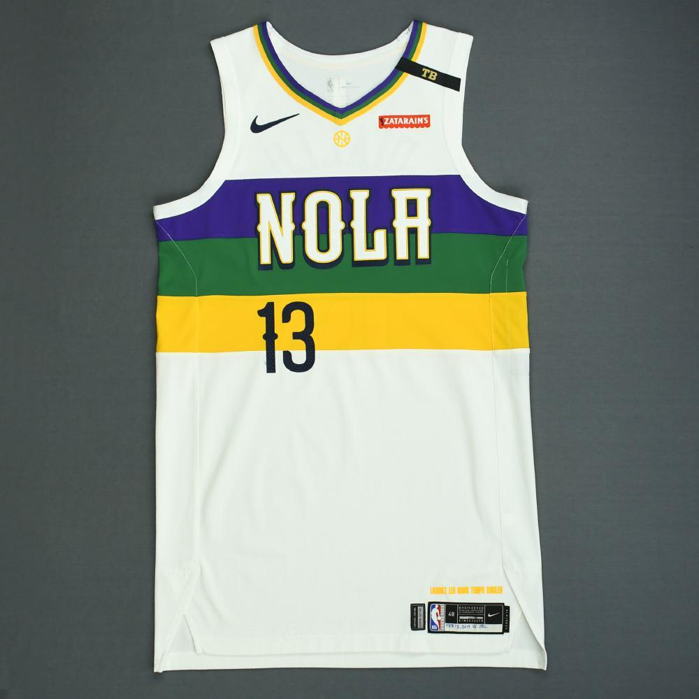 Cheick Diallo - New Orleans Pelicans - Game-Worn City Edition Jersey - 2018-19 Season