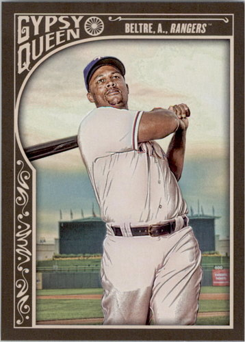 Photo of 2015 Topps Gypsy Queen #46A Adrian Beltre