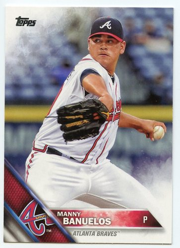 Photo of 2016 Topps #511 Manny Banuelos