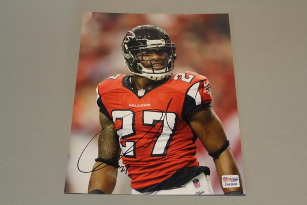 Falcons - Robert McClain signed 8x10 photo