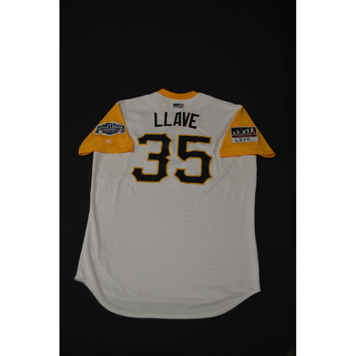 "Photo of 2019 Little League Classic - Game Used Jersey - Keone ""Llave"" Kela,  Chicago Cubs at Pittsburgh Pirates - 8/18/2019 (Size - 46)"