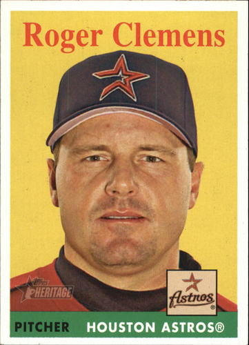Photo of 2007 Topps Heritage #2a Roger Clemens