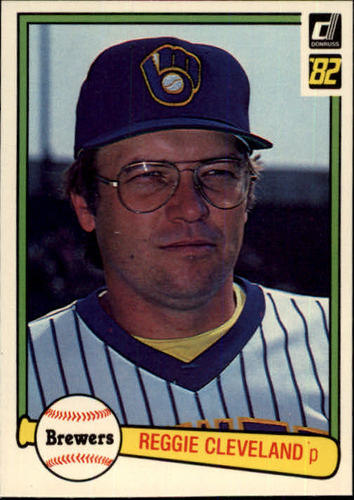 Photo of 1982 Donruss #456 Reggie Cleveland
