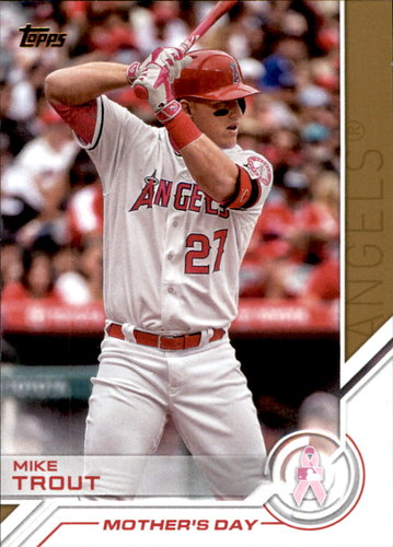 Photo of 2017 Topps Salute #S25 Mike Trout
