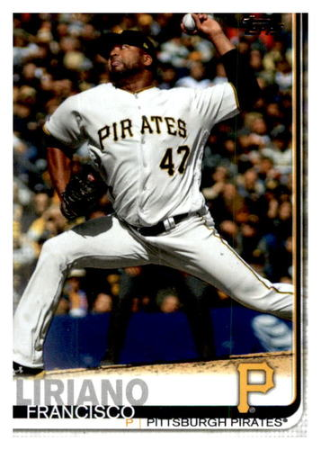 Photo of 2019 Topps Update #US61 Francisco Liriano