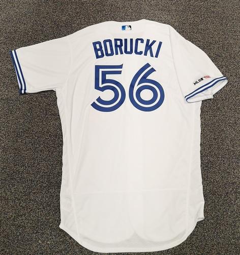 Photo of Authenticated Team Issued Jersey - #56 Ryan Borucki (2019 Season). Size 46.