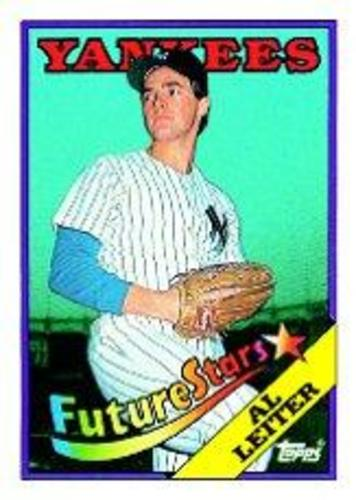 Photo of 1988 Topps #18B Al Leiter RC/COR Left ear visible
