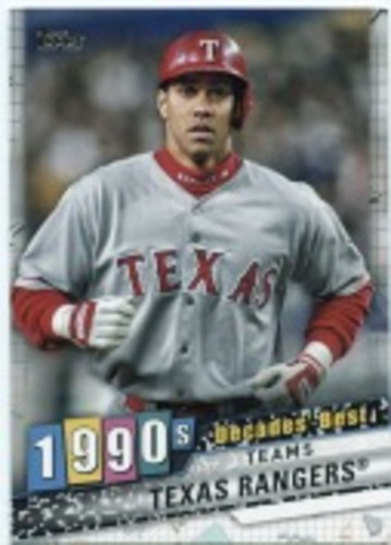 Photo of 2020 Topps Decades' Best Series 2 #DB79 Texas Rangers