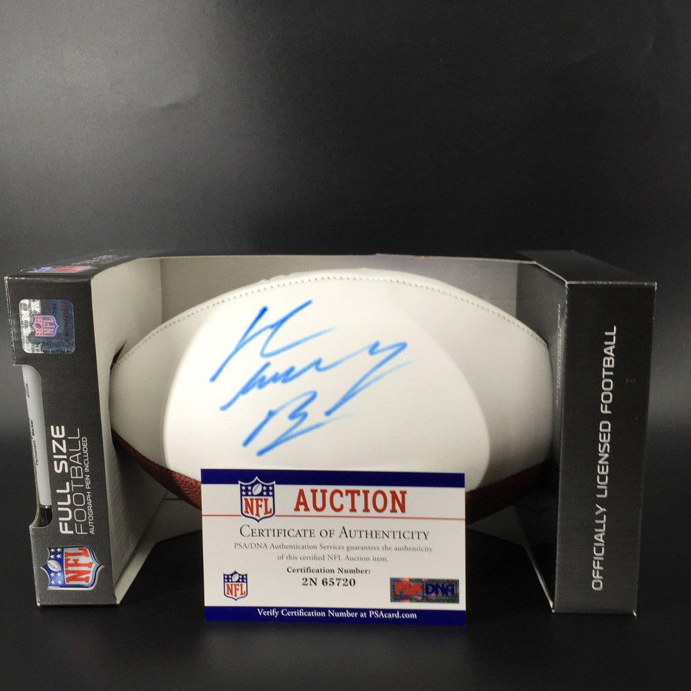 Bills - John Brown Signed Panel Ball w/ Bills Logo