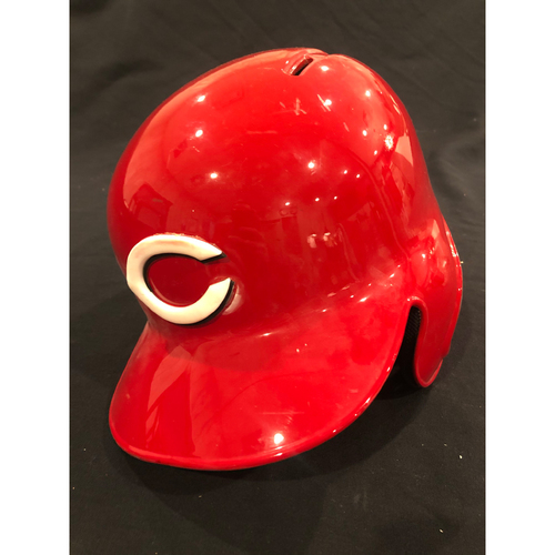 "Photo of Reds Commemorative ""No. 11"" Retired Number Helmet -- (Not MLB Authenticated, COA Included) -- Helmet Scheduled to Arrive Prior to Dec 24"