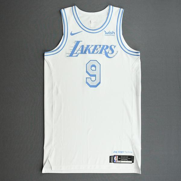 Image of Wesley Matthews - Los Angeles Lakers - Christmas Day' 20 - Game-Worn City Edition Jersey