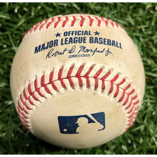 Photo of Rays Baseball Foundation: Game Used Home Run Baseball - Teoscar Hernandez - August 23, 2020 v TOR
