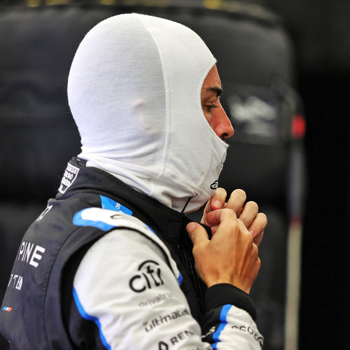 Photo of Fernando Alonso 2021 Race Used Balaclava - US GP