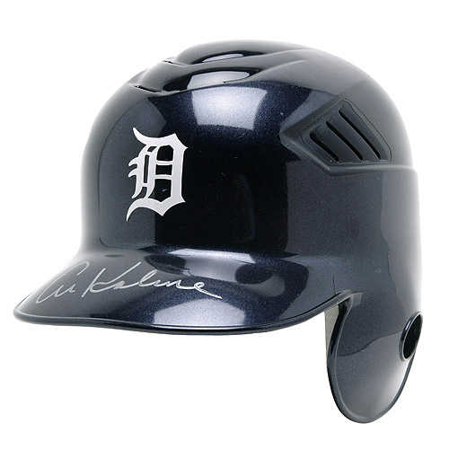 Photo of Detroit Tigers Al Kaline Autographed Full-Size Helmet - Helmet Size -  7 1/4
