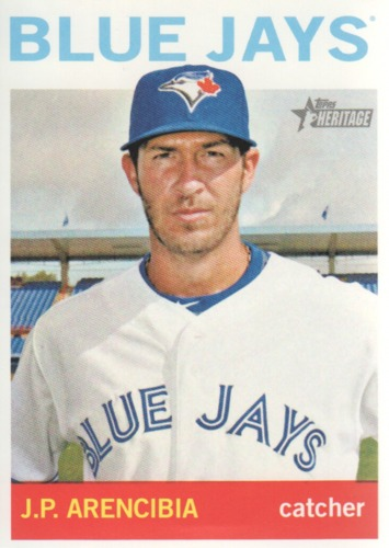 Photo of 2013 Topps Heritage #222 J.P. Arencibia