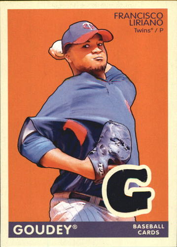 Photo of 2009 Upper Deck Goudey Memorabilia #GMFL Francisco Liriano