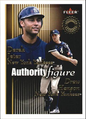 Photo of 2001 Fleer Authority Figures #3 D.Jeter/D.Henson