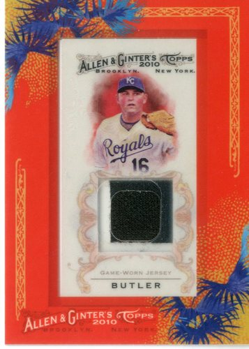 Photo of 2010 Topps Allen and Ginter Relics #BB Billy Butler