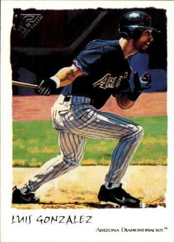 Photo of 2002 Topps Gallery #8 Luis Gonzalez