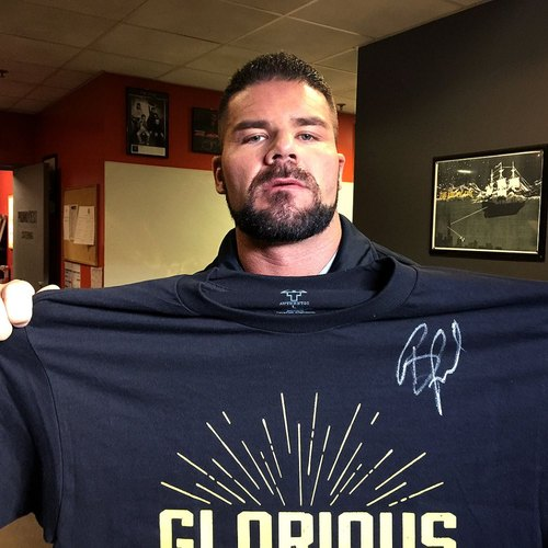 Bobby Roode SIGNED Authentic T-Shirt (Size L)