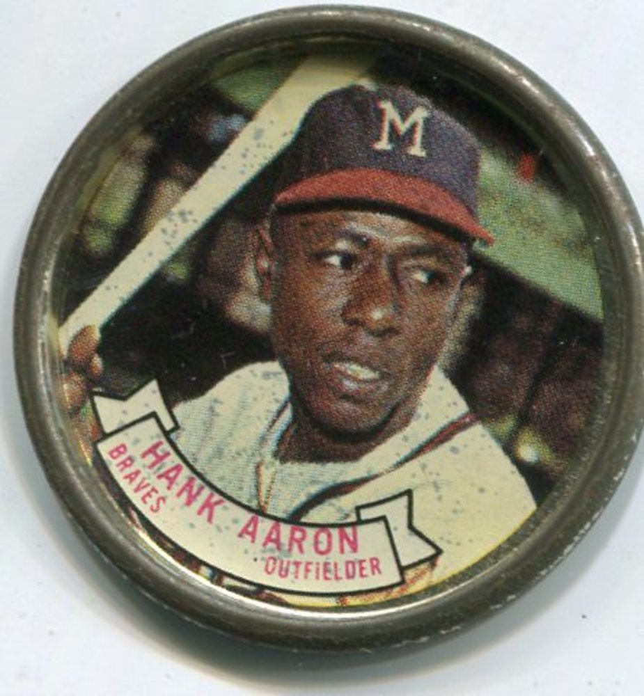 1964 Topps Coins #83 Hank Aaron