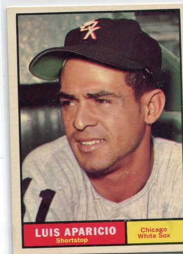 Photo of 1961 Topps #440 Luis Aparicio -- Hall of Famer