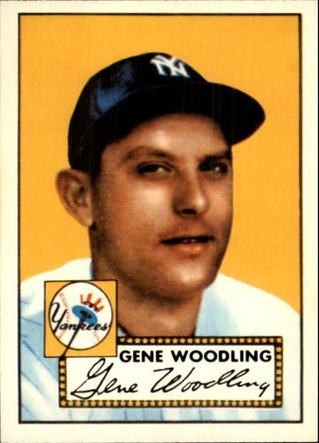 Photo of 1983 Topps 1952 Reprint #99 Gene Woodling