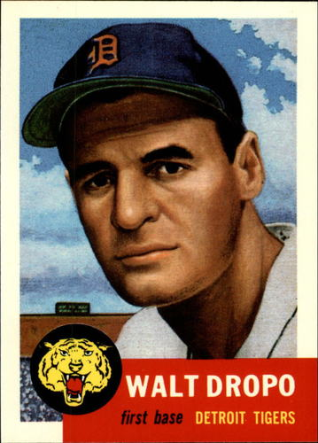 Photo of 1991 Topps Archives 1953 #121 Walt Dropo