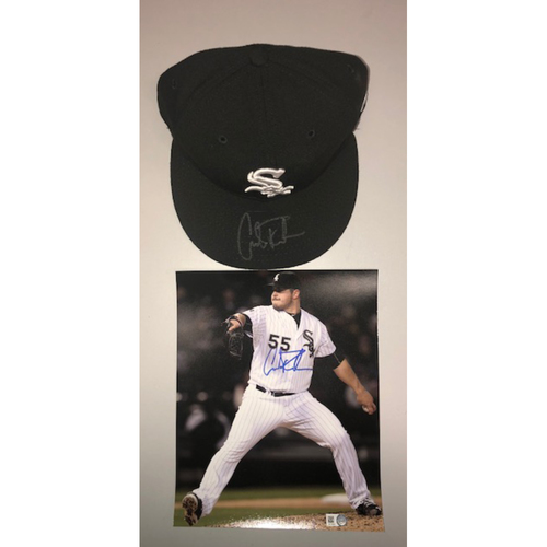 Photo of Pitchers and Catchers Report: Carlos Rodon Autographed Cap and Photo