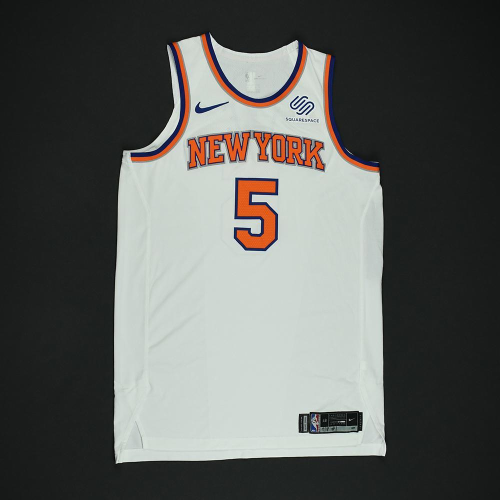 Courtney Lee - New York Knicks - NBA Christmas Day '17 Game-Worn Jersey