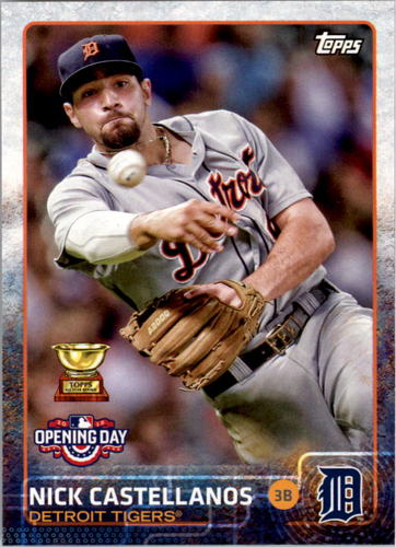 Photo of 2015 Topps Opening Day #43 Nick Castellanos