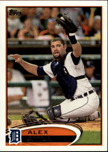 Photo of 2012 Topps #213 Alex Avila