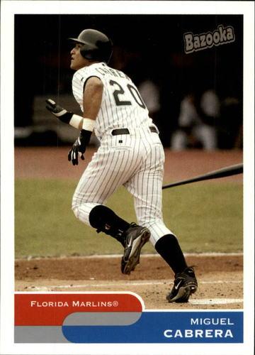 Photo of 2004 Bazooka #15 Miguel Cabrera