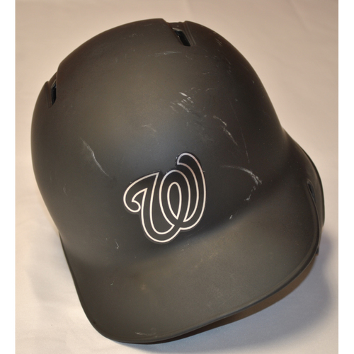 "Photo of Anibal ""ALEJO"" Sanchez Washington Nationals Game-Used 2019 Players' Weekend Helmet"