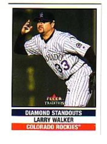 Photo of 2002 Fleer Tradition Update #U277 Larry Walker DS
