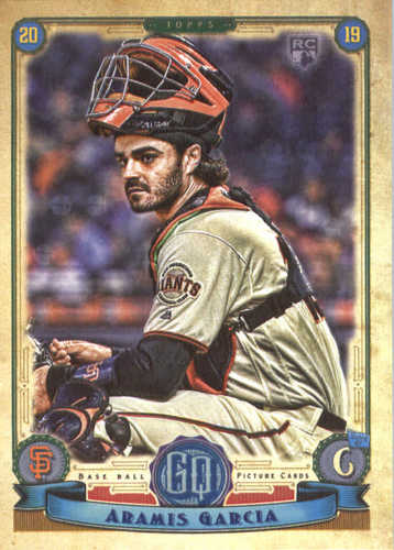 Photo of 2019 Topps Gypsy Queen #165 Aramis Garcia RC