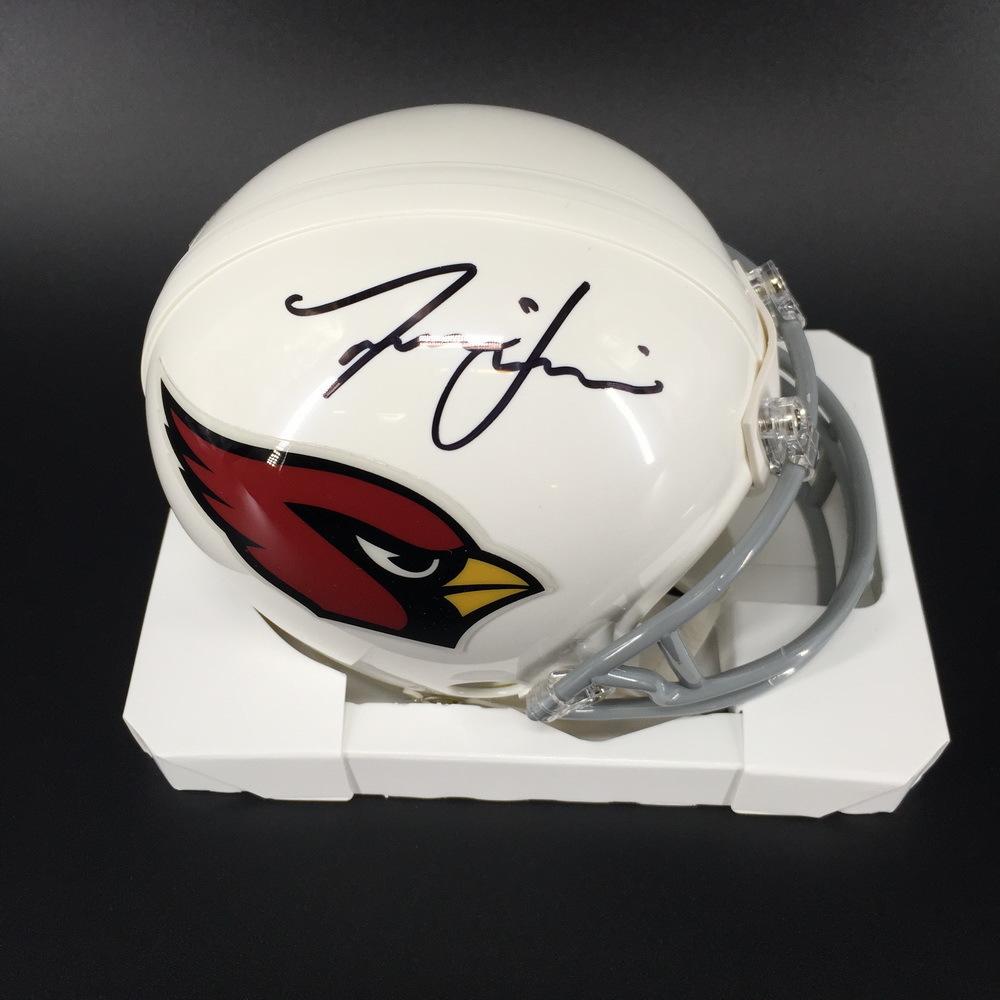 NFL - Cardinals Isaiah Simmons Signed Mini Helmet