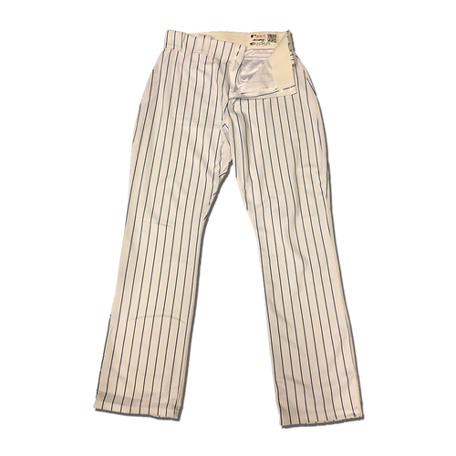 Robinson Cano #24 - Team Issued White Pinstripe Pants - 2019 Season